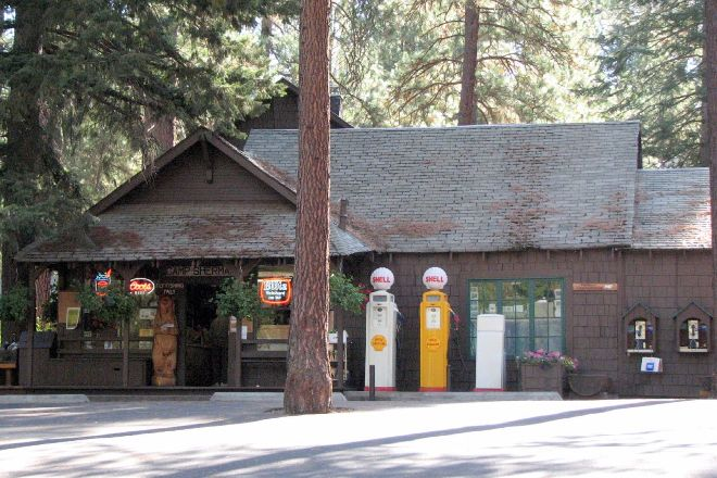 Camp Sherman Store on the Metolius River, Camp Sherman, United States
