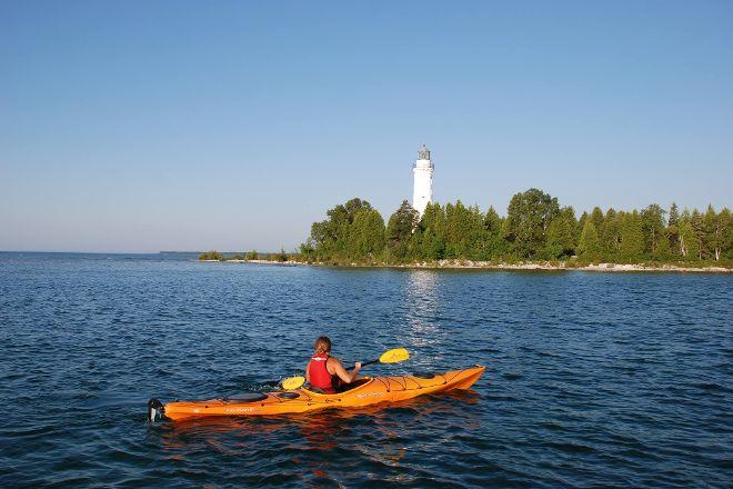 Cana Island Lighthouse, Baileys Harbor, United States