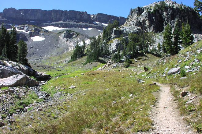Cascade Canyon Trail, Grand Teton National Park, United States