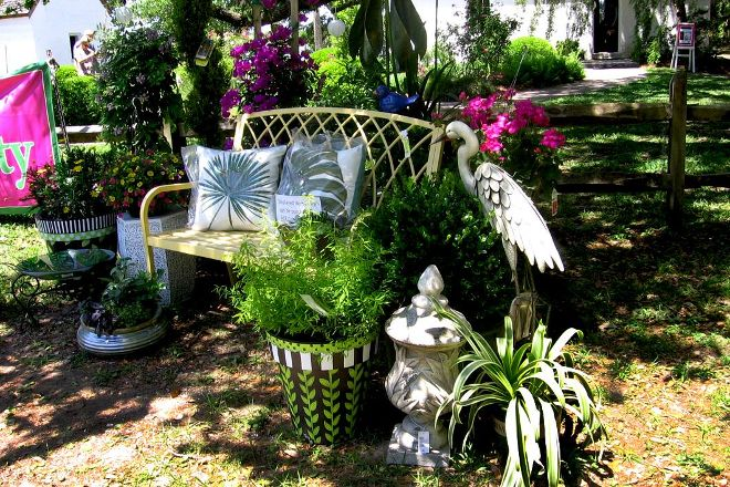 Cassina Garden Club tabby cabins, Saint Simons Island, United States
