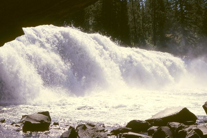 Cave Falls, Yellowstone National Park, United States