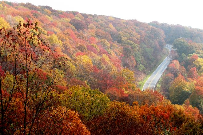 Cherohala Skyway, North Carolina Mountains, United States