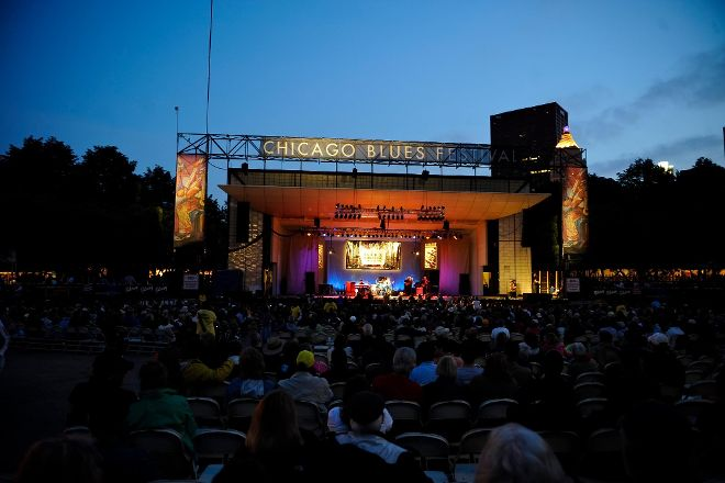 Chicago Blues Festival, Chicago, United States