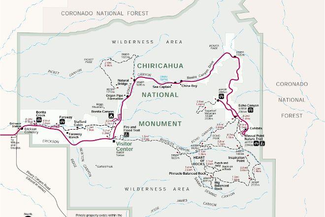 Chiricahua National Monument, Willcox, United States