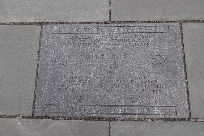 City Hall Park, New York City, United States