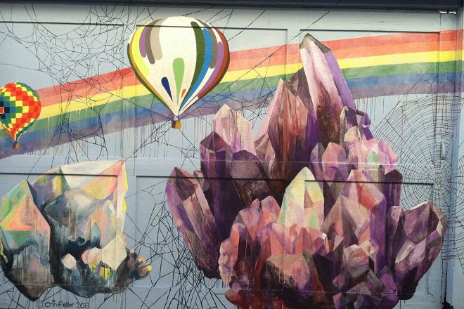 Clarion Alley Murals, San Francisco, United States