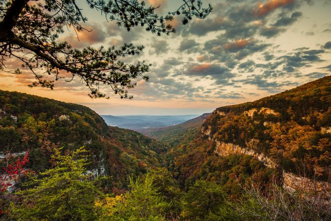 Cloudland Canyon State Park, Rising Fawn, United States