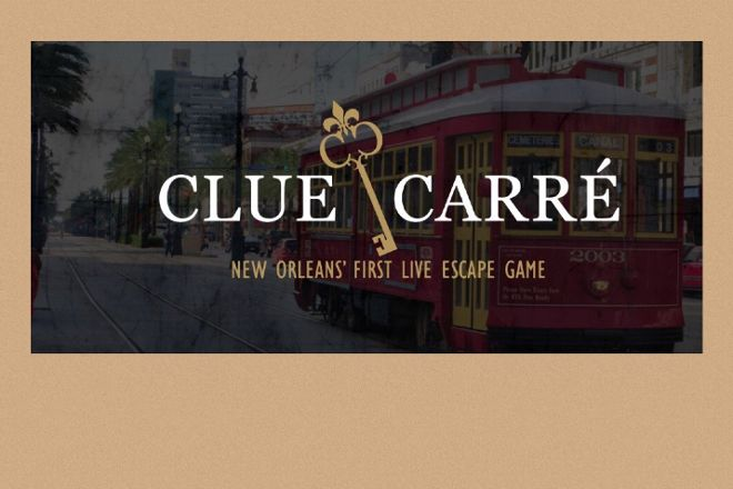 Clue Carre - New Orleans' First Live Escape Game, New Orleans, United States