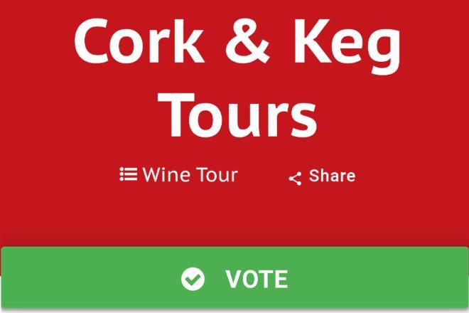Cork & Keg Tours, Leesburg, United States