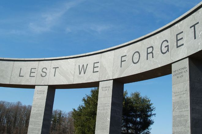 Delaware County Veterans Memorial in Newtown Square, Newtown Square, United States