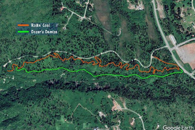 Diamond Creek Trail, Homer, United States