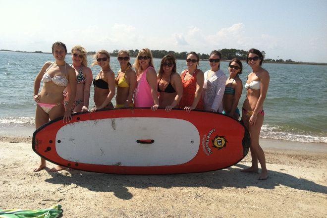 East Coast Paddleboarding, Tybee Island, United States