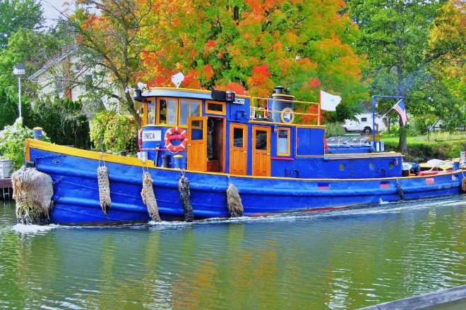 Erie Canal, Fairport, United States