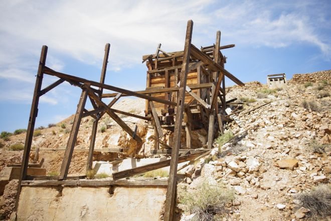 Eureka Mine, Death Valley National Park, United States
