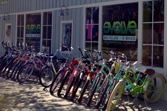 Evolve Bicycle and Ebike Rentals, Celebration, United States