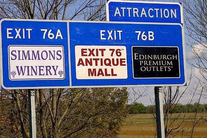 Exit 76 Antique Mall, Edinburgh, United States