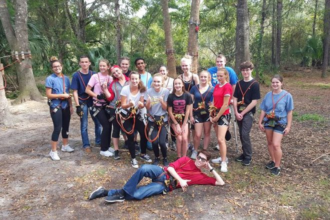 Faith Haven CRC's Florida Tree Top Adventure, Crystal River, United States