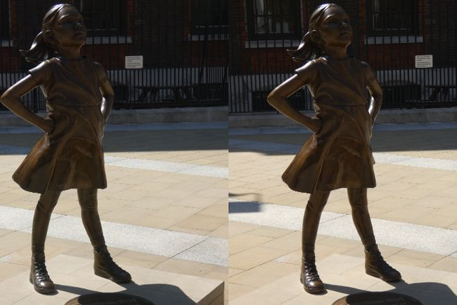 Fearless Girl, New York City, United States