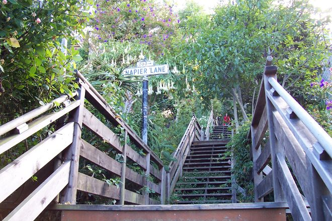 Filbert Street Stairs, San Francisco, United States
