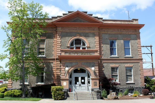 Fire Museum in City Hall, The Dalles, United States