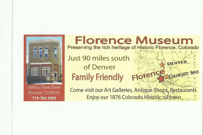Florence Pioneer Museum and Research Center, Florence, United States