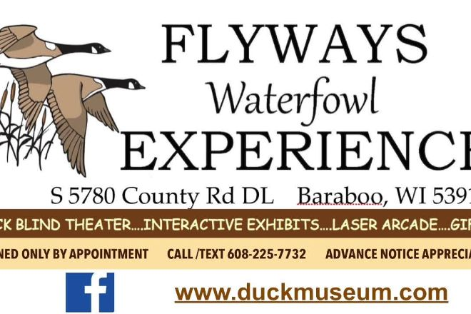 Flyways Waterfowl Experience, Baraboo, United States