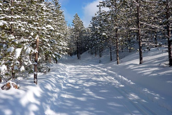 Forbush Corner Cross-Country Skiing, Frederic, United States