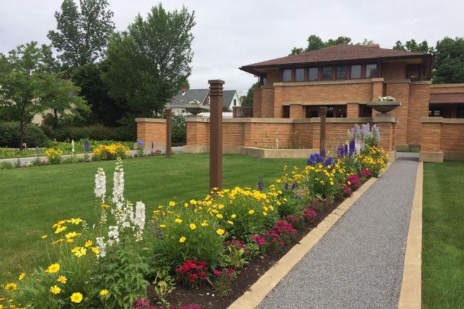 Frank Lloyd Wright's Martin House, Buffalo, United States