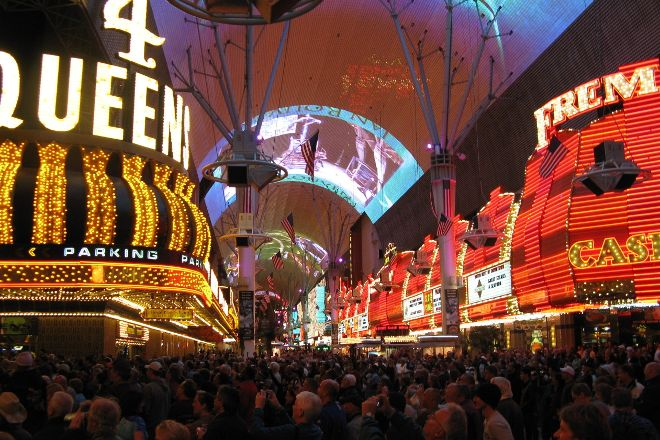 Fremont Street Experience, Las Vegas, United States