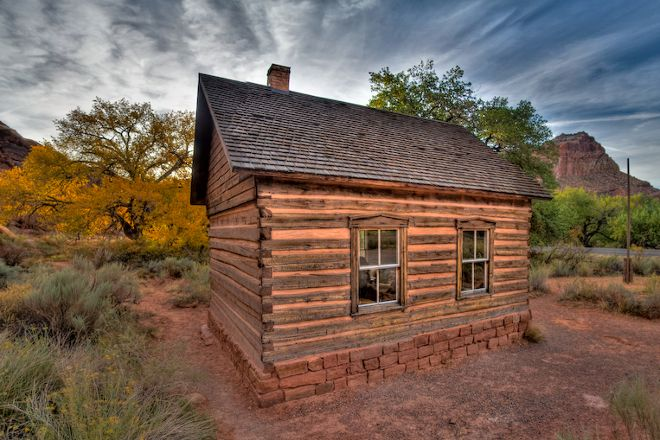 Fruita Schoolhouse, Capitol Reef National Park, United States