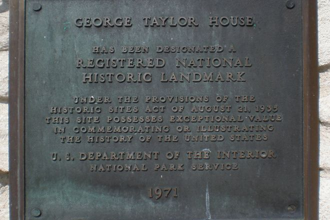 George Taylor House, Catasauqua, United States
