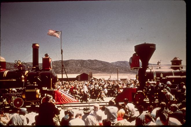 Golden Spike National Historic Site, Corinne, United States