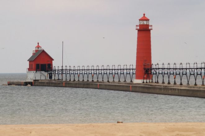 Grand Haven Lighthouse and Pier, Grand Haven, United States
