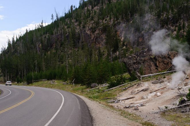 Grand Loop Road, Yellowstone National Park, United States