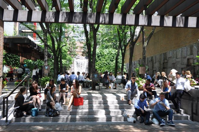 Greenacre Pocket Park, New York City, United States
