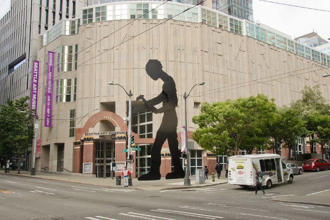 Hammering Man, Seattle, United States