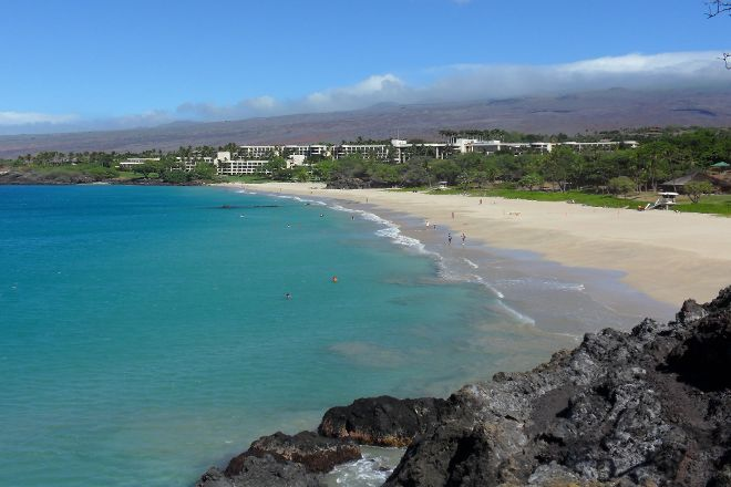 Hapuna Beach State Recreation Area, Puako, United States