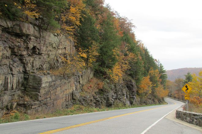 Hawk's Nest Highway, Port Jervis, United States