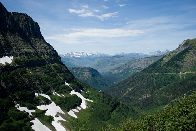Highline Trail, Glacier National Park, United States