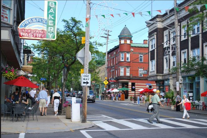 Historic Little Italy in Cleveland, Cleveland, United States