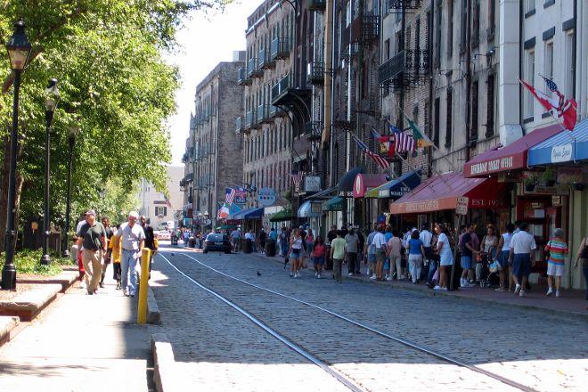 Historic River Street, Savannah, United States