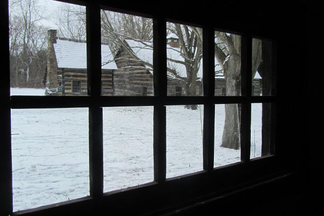 Historic Schoenbrunn Village, New Philadelphia, United States