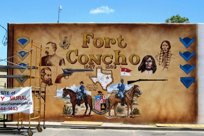 Historical Murals of San Angelo, San Angelo, United States