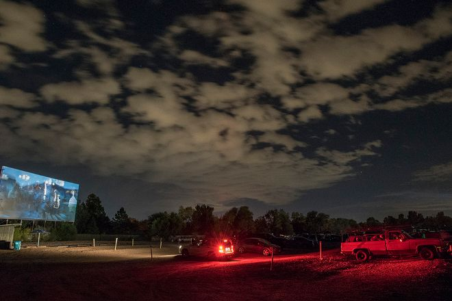 Holiday Twin Drive-In Theater, Fort Collins, United States