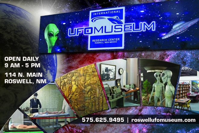 International UFO Museum and Research Center, Roswell, United States