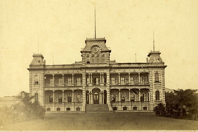 Iolani Palace, Honolulu, United States