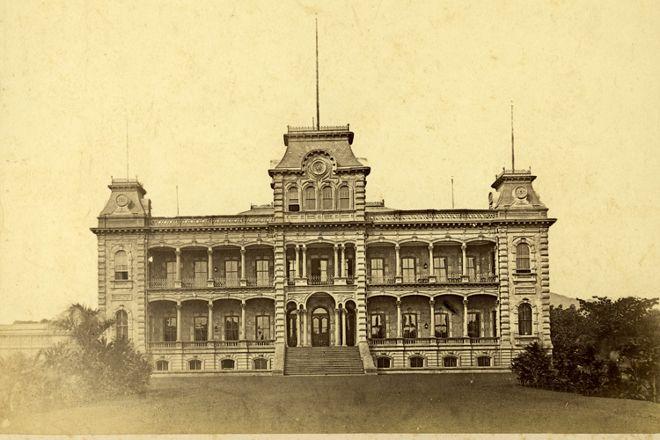 Iolani Palace, Honolulu, United States