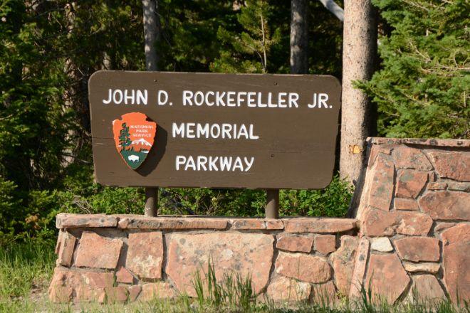 John D Rockefeller Jr Memorial Parkway, Moose, United States