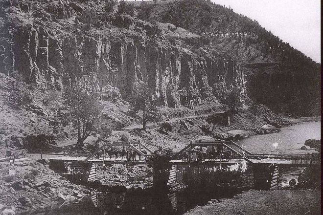 John Dunn Bridge, Arroyo Hondo, United States