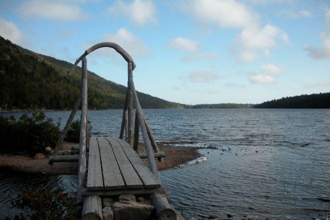 Jordan Pond Path Trailhead, Acadia National Park, United States